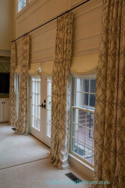Linen window treatments relaxed roman shades the fabric for Linen shades window treatments