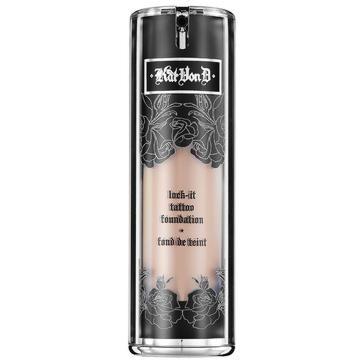 Maquillaje de la gama KatVonD: Lock It Foundation (P.V.P.: 34'50€) 12 Ton