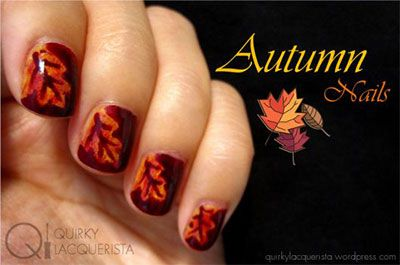 fall nails 2014 | Nail Art Designs Ideas Trends Stickers 2014 Fall Nails 15 30 Autumn ...