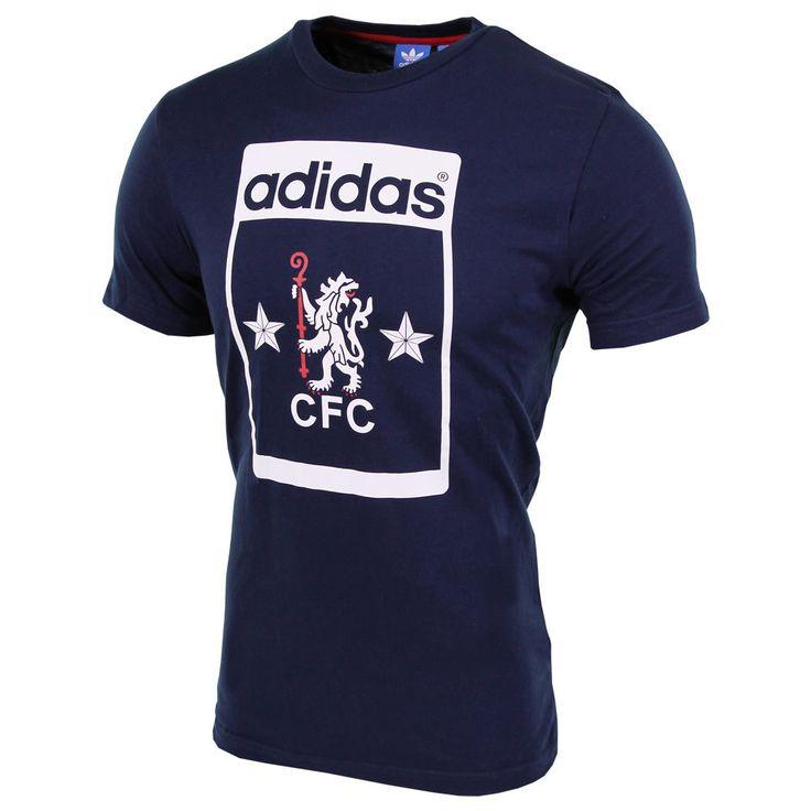 Nog op zoek naar een Adidas Originals Chelsea shirt? Deze vind je nu namelijk via Aldoor in de uitverkoop! #heren #mannen #mode #adidas #sport #voetbal #men #fashion #shirt #soccer #sale