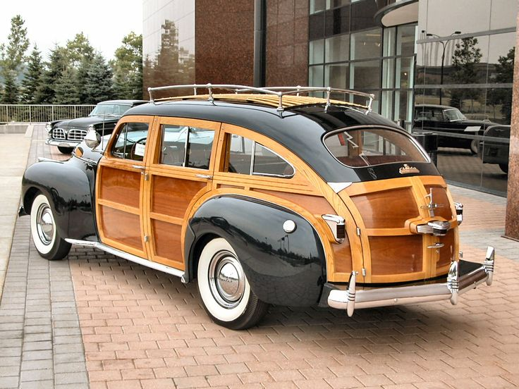 Chrysler Town & Country Woody Station Wagon 1941.