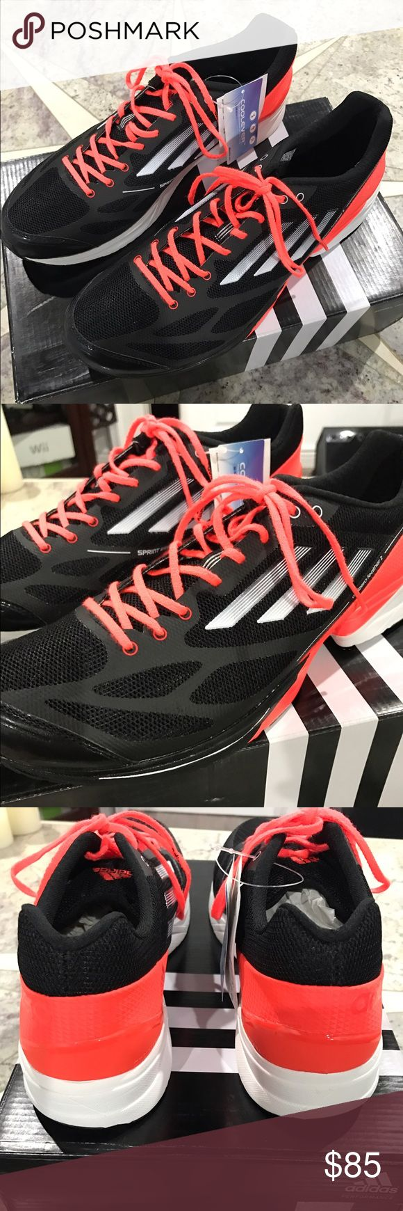 Brand New!!!! Men's Adidas Adizero Feather 2 Brand New!!!! Men's Adidas Adizero Feather 2. Running shoes with Coolever comfort Adidas Shoes Athletic Shoes