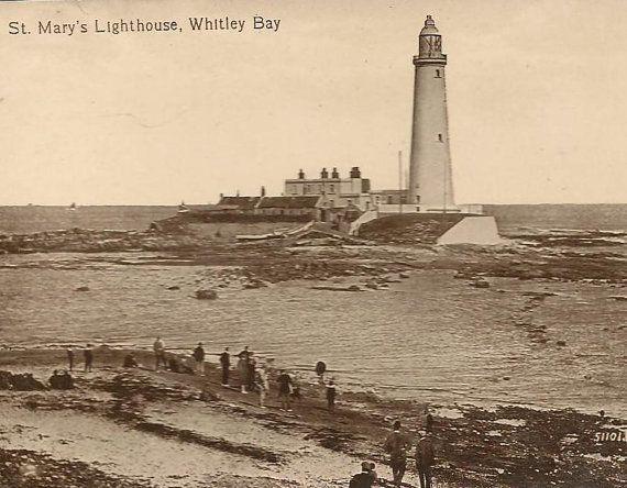 St Marys Lighthouse WHITLEY BAY United Kingdom by TheOldBarnDoor