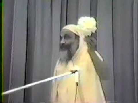 My revered Guru Sri Swami Dayananda Saraswati