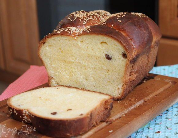 Сладкий хлеб с изюмом