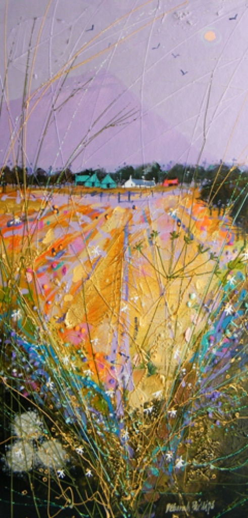 End o' the Furrow -  - Acrylic    - Deborah Phillips