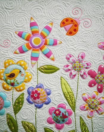 Nice quilting, darling applique