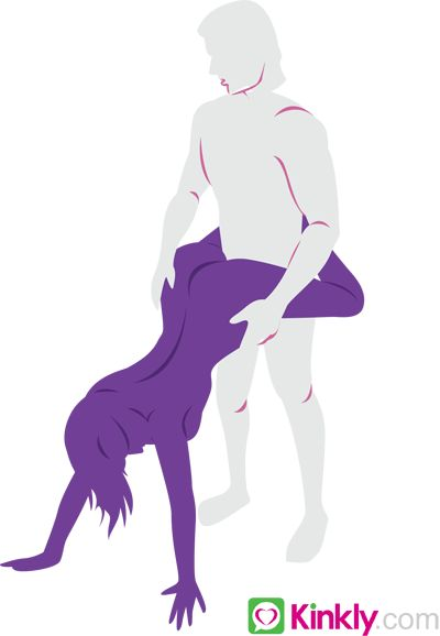 Sex position for deep penetration