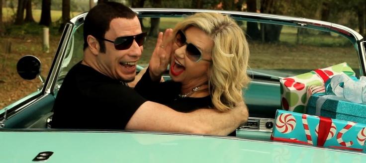 John Travolta e Olivia Newton-John reunidos para álbum de Natal | Propagandista Social