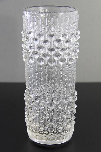 Hermanova 'Candle Wax' glass vase, by Frantisek Peceny, Czechoslovakia circa 1974 *I own this