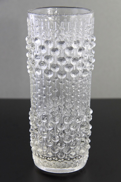 Hermanova 'Candle Wax' glass vase, by Frantisek Peceny, Czechoslovakia circa 1974 *I own this