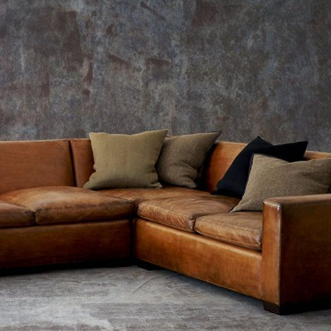 Ralph Lauren sectional couch - cool, but would it fit? Also probably really expensive