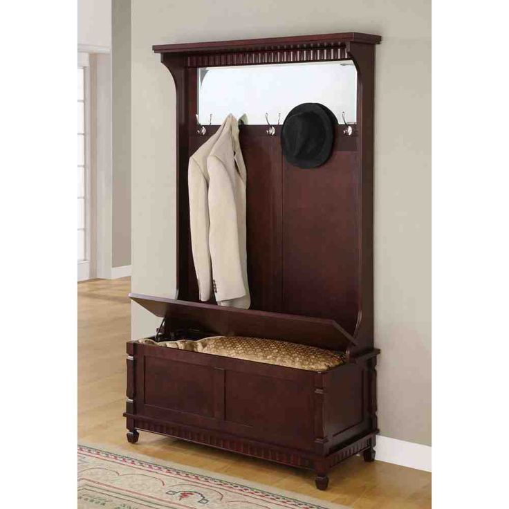 Unique Hall Chair with Storage