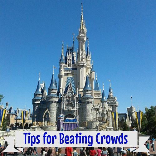 Learn Magic Kingdom Tips for Beating Crowds. This way you can plan your park trip so that you can ride all your favorite rides without lines!