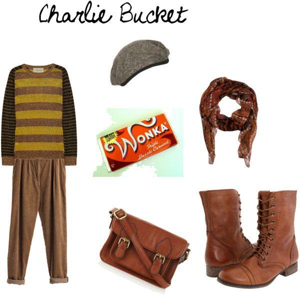 Halloween school door decorations - Charlie Bucket Basic Brown Costumes Pinterest Brown