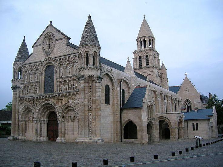 Notre-Dame la Grande in Poitiers (France).