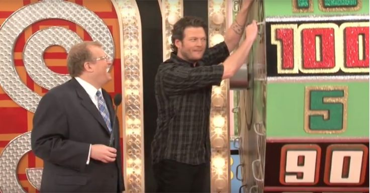 "Watching Blake Shelton taking a spin at ""The Price is Right"" wheel will have you cracking up"