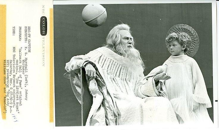 JOHNNY WHITAKER E.G. MARSHALL THE LITTLEST ANGEL ORIGINAL 1969 NBC TV PHOTO | eBay