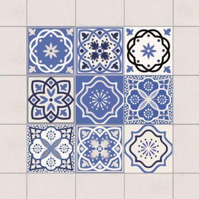 Fliesenaufkleber - 9 Portugiesische Fliesen - Fliesensticker 15cm x 15cm Jetzt bestellen unter: https://moebel.ladendirekt.de/dekoration/wandtattoos/wandtattoos/?uid=dd29b157-005c-5eea-a150-6fb0619dfb3a&utm_source=pinterest&utm_medium=pin&utm_campaign=boards #heim #tattoos #dekoration