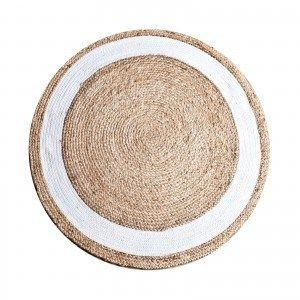 By Boo Carpet Jute Round White #ByBoo #ByBooDelft #ByBooMeubelslaaphuys #Meubelslaaphuys