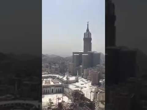 SAUDI ARABIA MAKKAH MASJID UL  HARAM RARE VIDEO KHAABA  ISLAMIC HISTORY