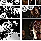 Side By Side Comparison Of Glenn's Death In The Walking Dead Comics Spoilers >>Glenn comics