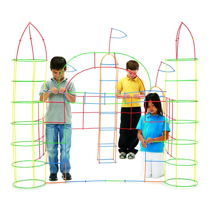 Age 5+ Simple to use for endless hours of imaginative play! Make play houses and forts, design buildings, engineer spacecrafts. Appropriate for a wide age range. The most economical building set aroun