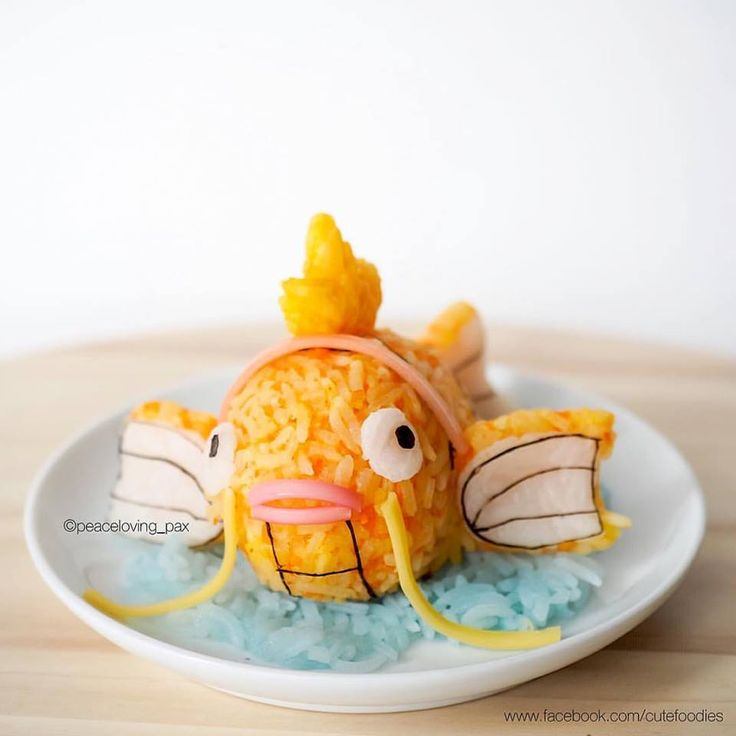 Pokémon characters in food art collection
