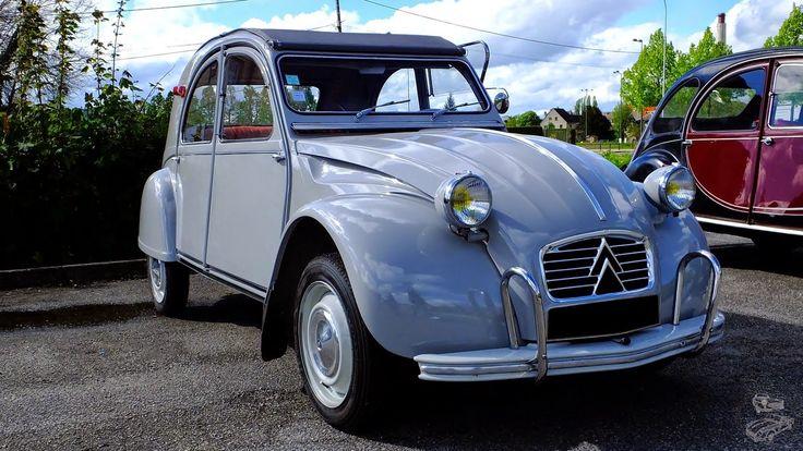 Beauvais (60). Rendez-vous mensuel .Citroën 2CV