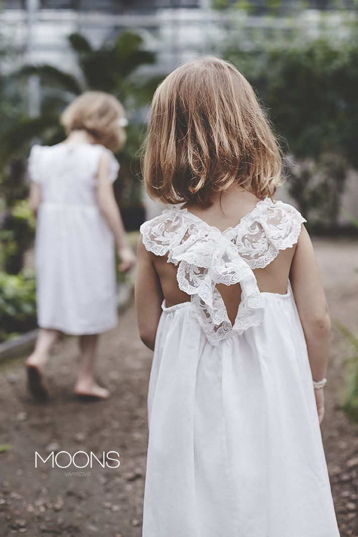 MOONS for kids. dresses for girls. [ ay ] & [ lalin ] models. made in Poland.
