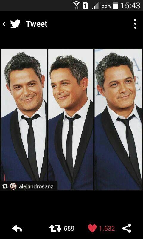Alejandro Sanz en los latín grammy. Guapoooo !!!!!!