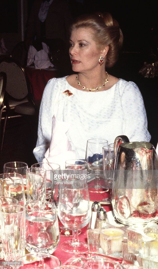 Princess Grace of Monaco at a party on September 24,1982 in New York, New York.