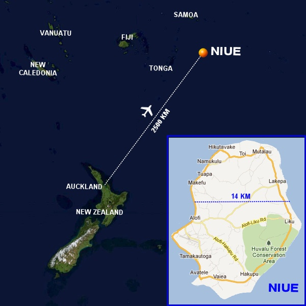 Niue - an amazing little big island in the South Pacific
