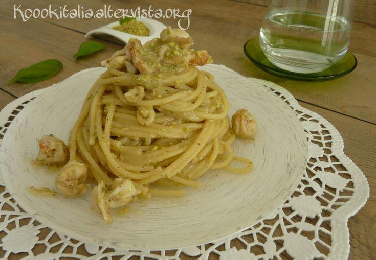 Pasta ai gamberi e pistacchio - Powered by @ultimaterecipe