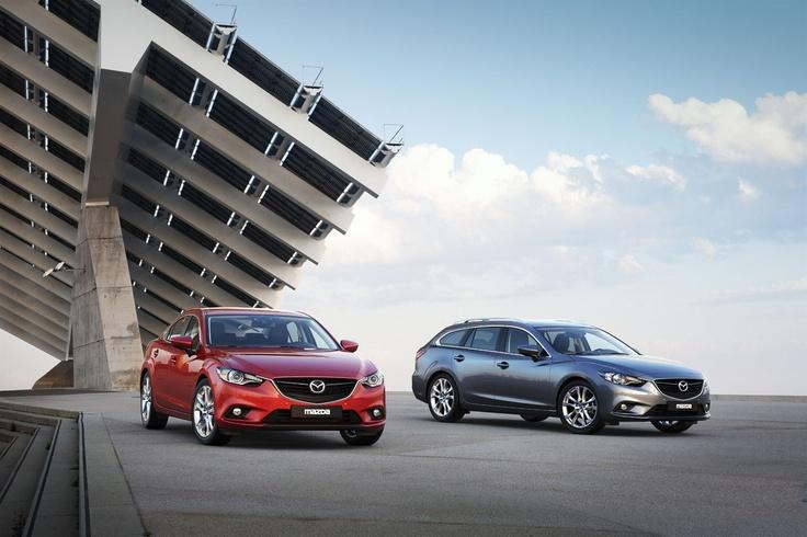 Mazda6 Limousine und Kombi zum gleichen Preis