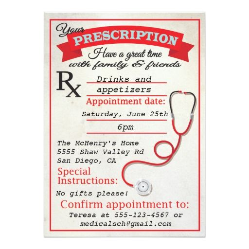 144 Best Medical School Graduation Invitations Images On Pinterest