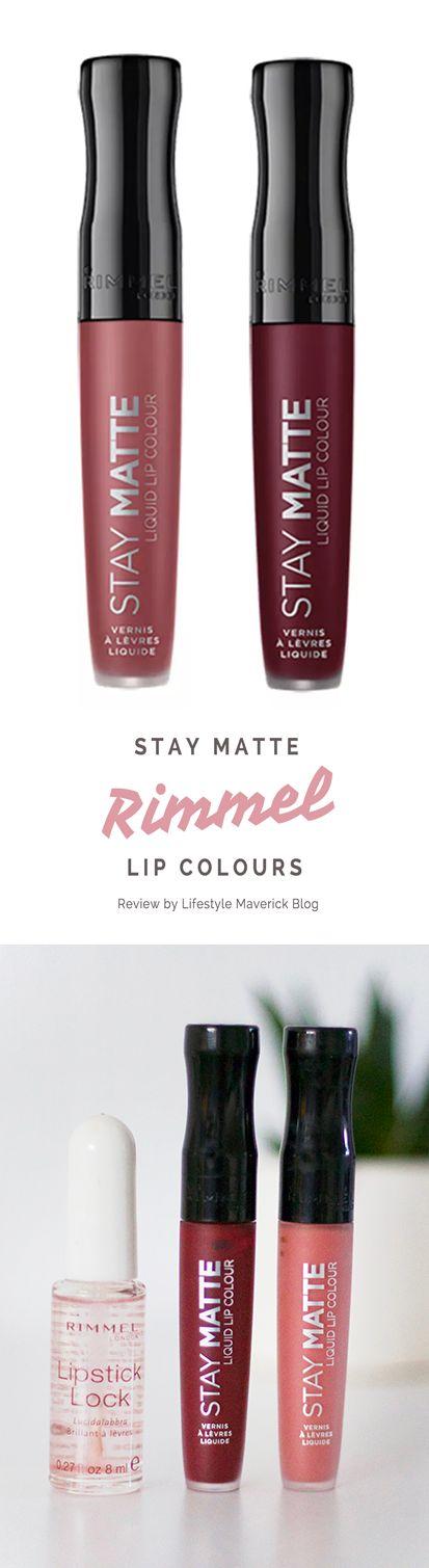 Rimmel Stay Matte Lipstick Review