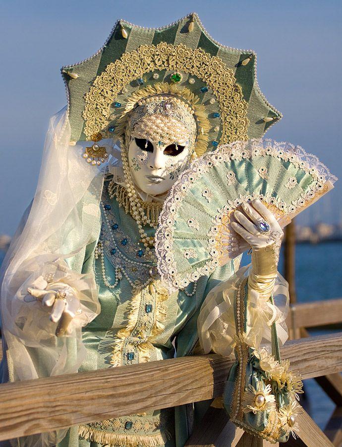 Venice carnival costume/mask.