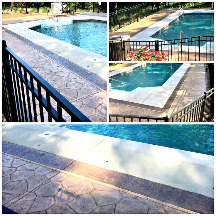 28 best Custom Concrete Pool Decks images on Pinterest Concrete