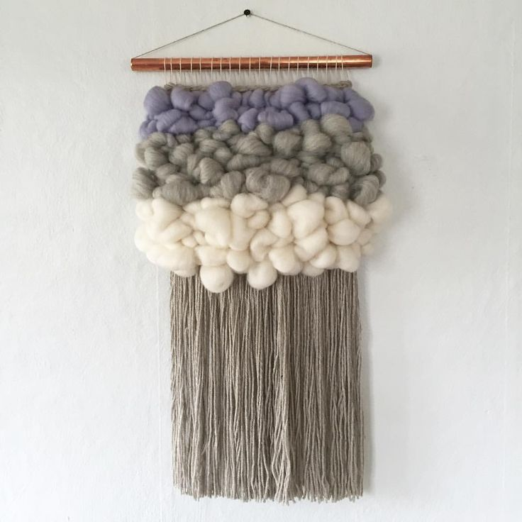 Close up of this little cutie☁️  ☁️ woven wall hangings weave witch wool & needle by cam kennedy