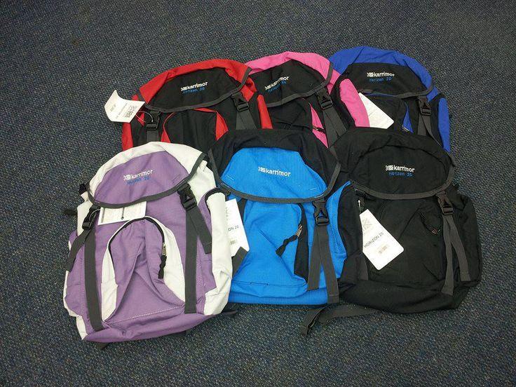 Durable yet beautiful Karrimor Horizon 20 School Bags now