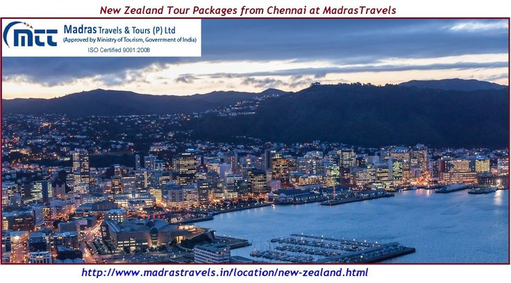 New Zealand Tour Packages from Chennai, buy most reasonale New Zealand customize holiday tour packages at Madras Travels & Tours to enjoy your holidays fullest. Call at Toll Free Number 1 800 103 2337 (9 am to 6 pm) for more details.