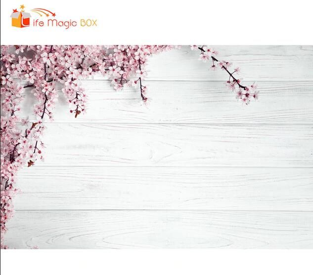 Photoshoot Background Wood Board Flower