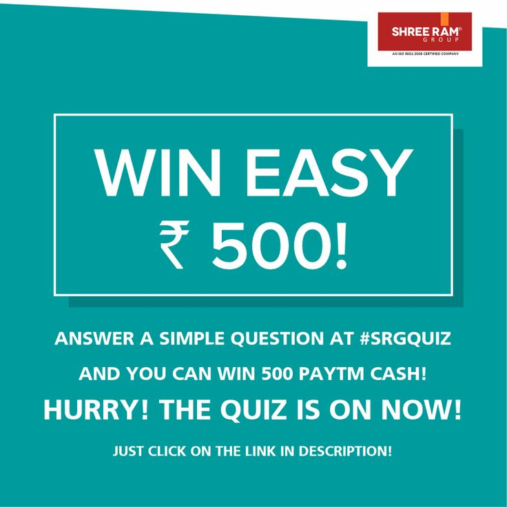 Follow #ShreeRamGroup to WIN CONTESTS EVERY WEEK and become a real estate expert with great advice on how to buy #property! We have cool contests running every week where you have the chance to win up to Rs 500 #PAYTM #CASH! Don't miss the opportunity and #follow us today!  #Fb https://www.facebook.com/Shreeramgrouprajasthan #Twitter https://twitter.com/srgjaipur #Vimeo https://vimeo.com/shreeramgroup