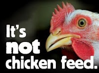 Arsenic. Banned Antibiotics. Tylenol. Benadryl. Caffeine. That's the list of things that are being fed to chickens...