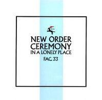 New Order 'Ceremony' by Peter Saville for Factory Records