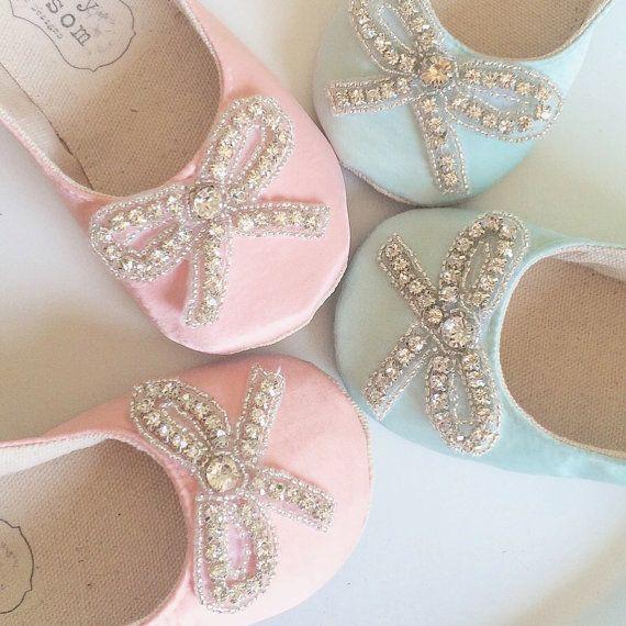 Flower Girl scarpe speciale occasione scarpe di BitsyBlossom