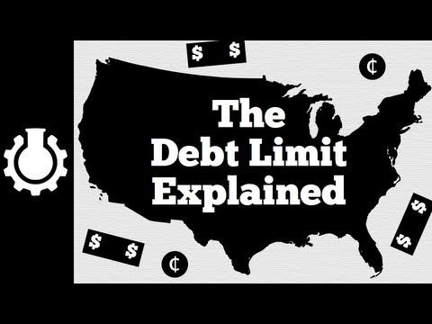 """The Debt Limit Explained~  """"This nifty little video from YouTube educator, CGPGrey, explains very succinctly what the debt limit is, and is not."""