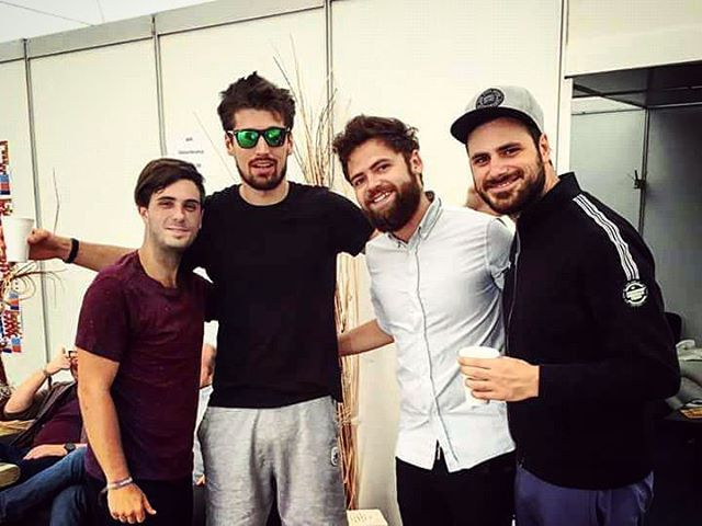 With Passenger #passenger #music #2cellos #drumstagram #drummer #drums #instadrums #drumfam #photooftheday #musicians #singer #songwriter #tourlife