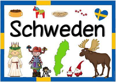 """Ideenreise: Länderplakat """"Schweden"""""""